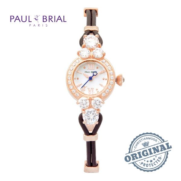 [폴브리알시계 PAULBRIAL] PB8001ROBR 여성용 팔찌시계