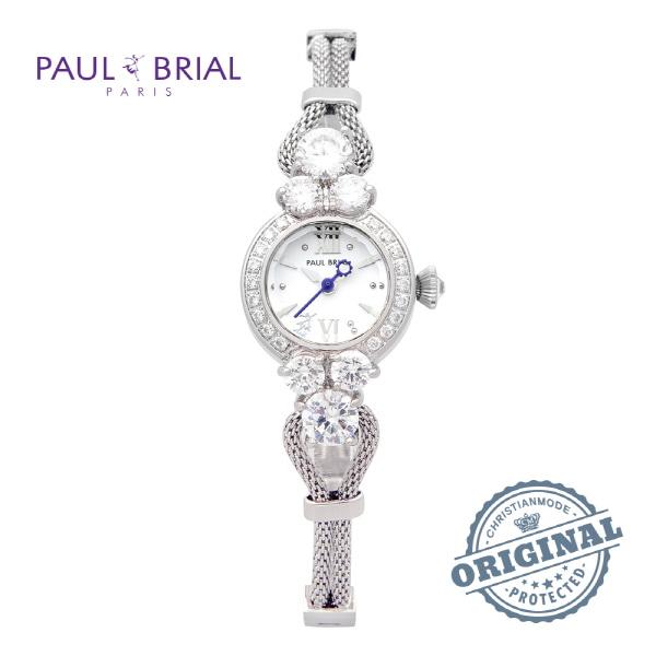 [폴브리알시계 PAULBRIAL] PB8001WT 여성용 팔찌시계