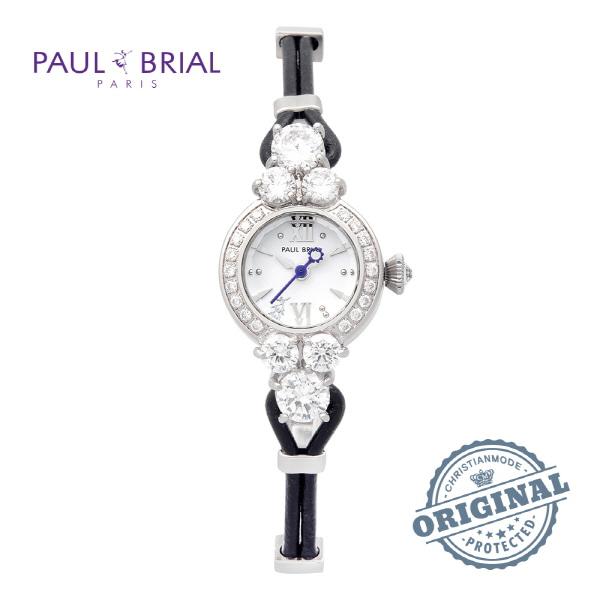 [폴브리알시계 PAULBRIAL] PB8001WTBK 여성용 팔찌시계