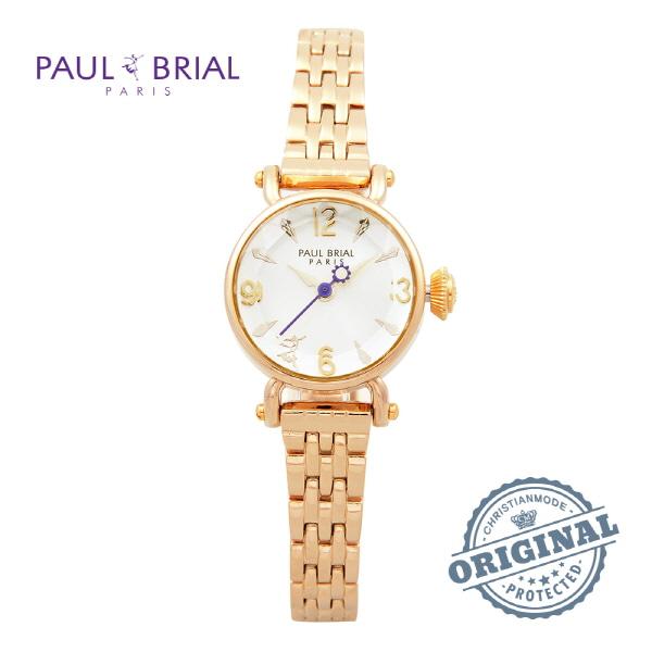 [폴브리알시계 PAULBRIAL] PB8003GD 여성용 메탈시계