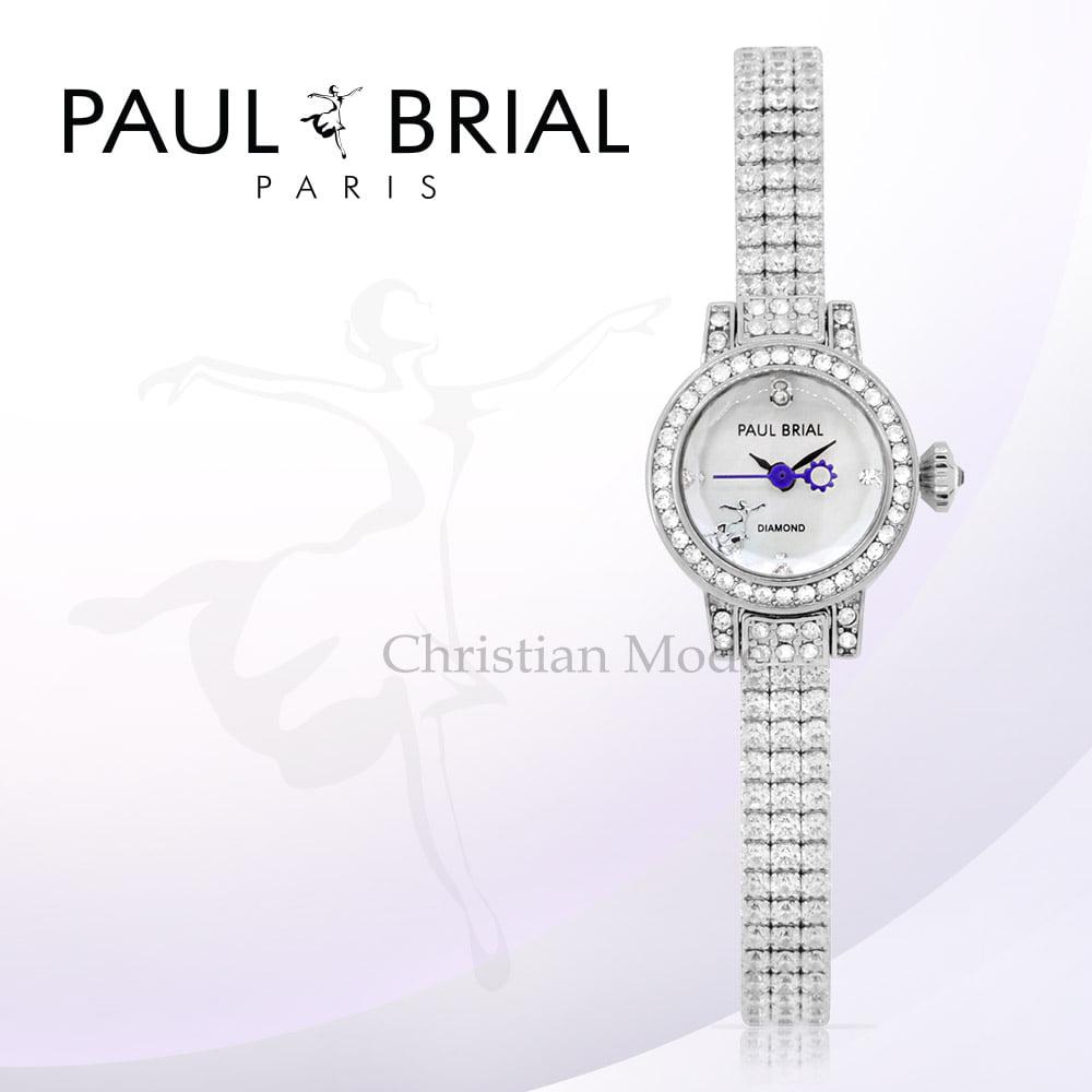 [폴브리알시계 PAULBRIAL] PB8020WT 리옹 여성시계