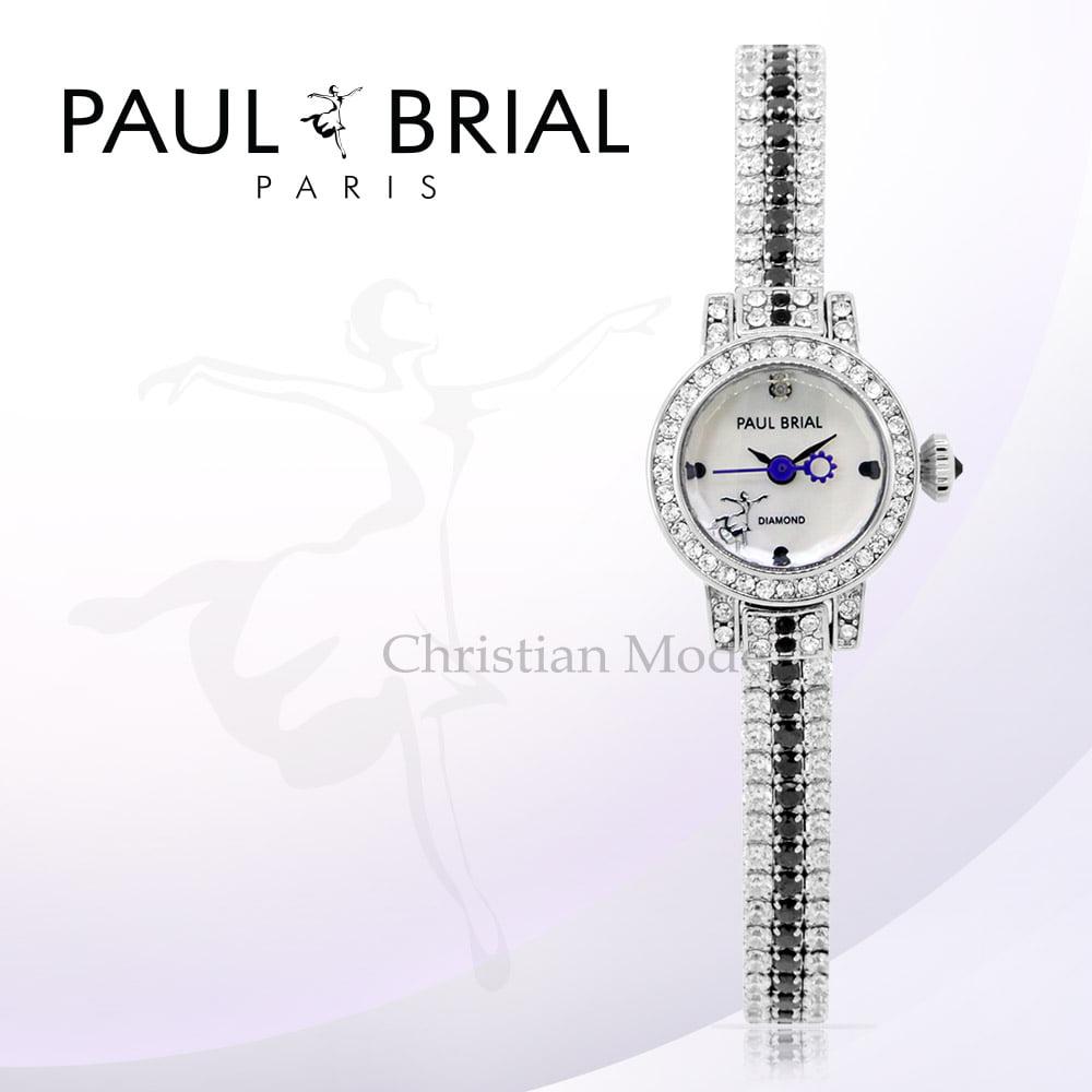 [폴브리알시계 PAULBRIAL] PB8020WTB 리옹 여성시계