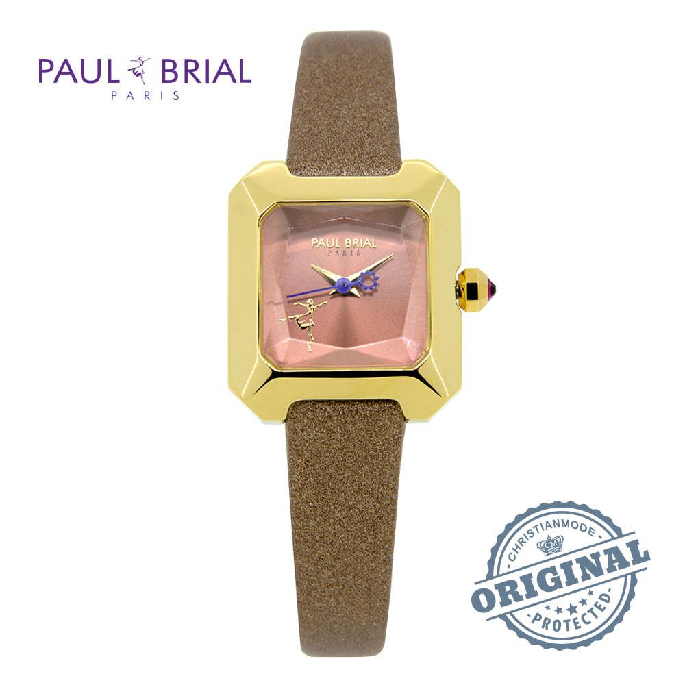 [폴브리알시계 PAULBRIAL] PB8024GDCH 스트라스부르 밥상 차리는 남자 43회 - 서효림 착용시계