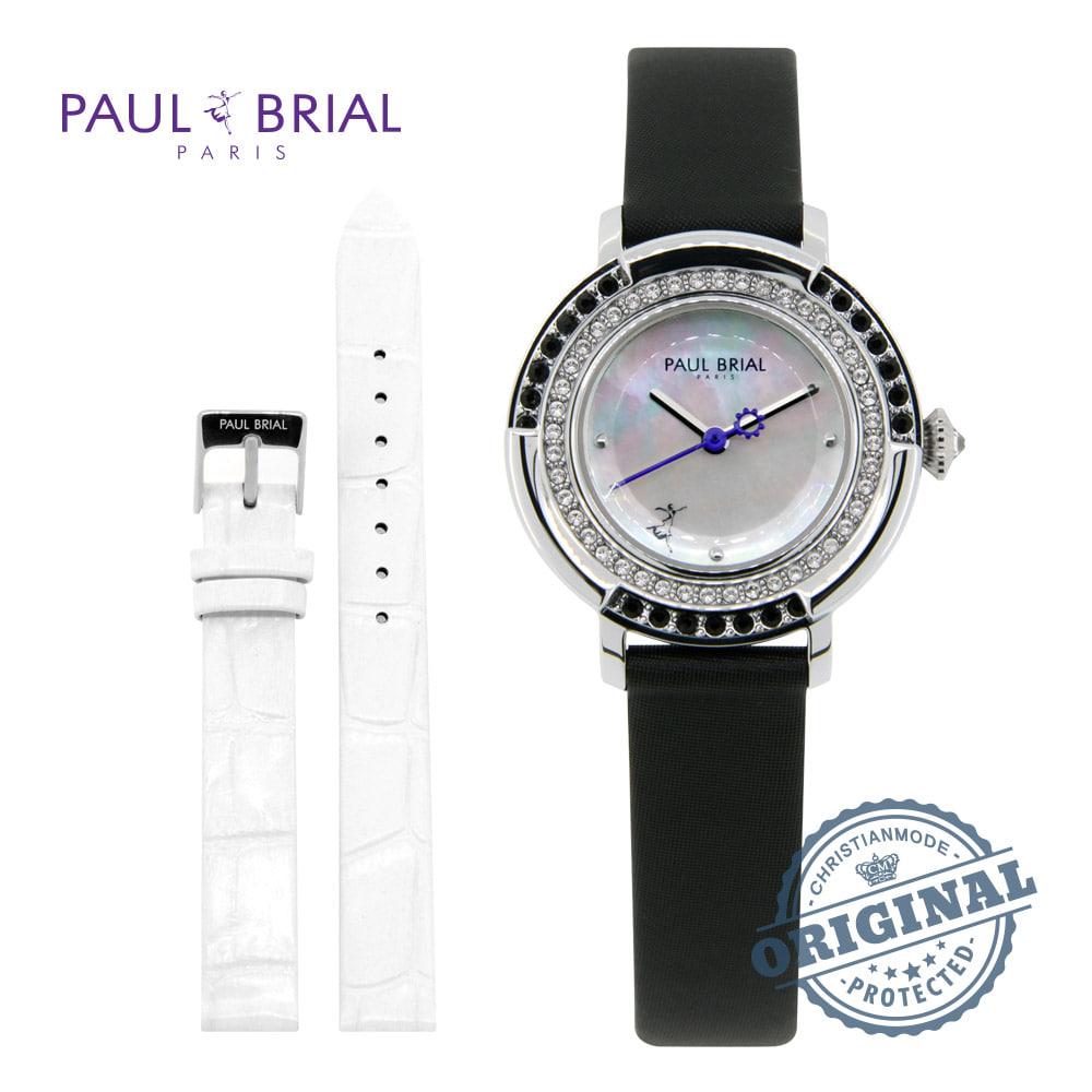 [폴브리알시계 PAULBRIAL] PB8026WTBK 콜마 여성시계