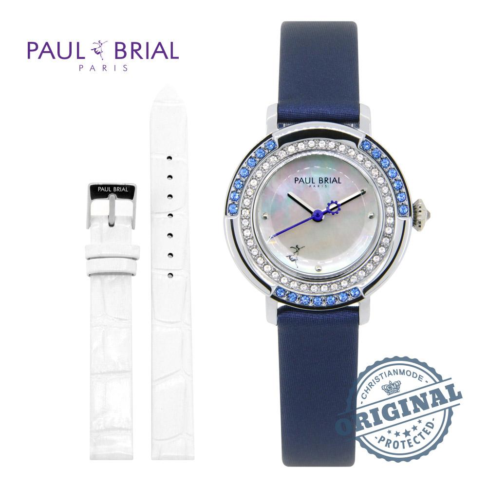 [폴브리알시계 PAULBRIAL] PB8026WTBU 콜마 여성시계