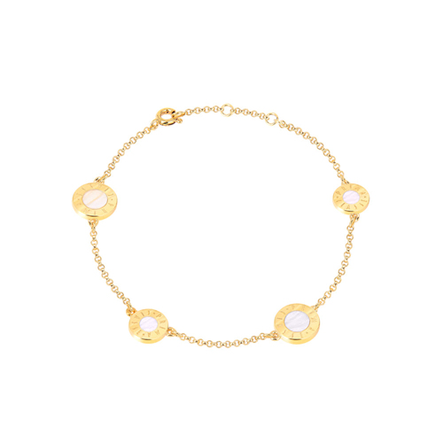 얼마줬스-) [프리마 클라쎄 쥬얼리 PRIMA CLASSE] MHJ17090006-R02 GOLD(WHITE) Color 팔찌