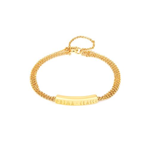 [프리마 클라쎄 쥬얼리 PRIMA CLASSE] MHJ17090014-R00 GOLD Color 팔찌
