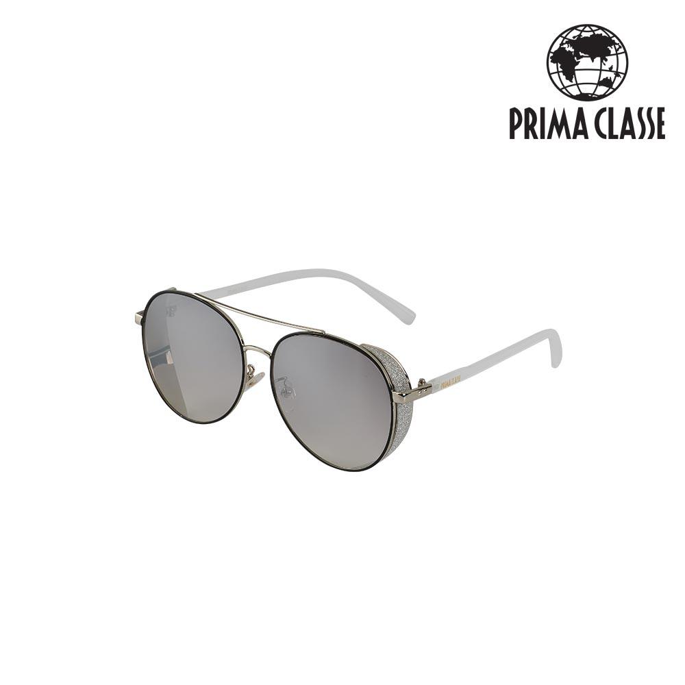 [프리마 클라쎄 PRIMA CLASSE] P1907-14-WHM white mercury 흰색 남녀공용 선글라스 타임메카