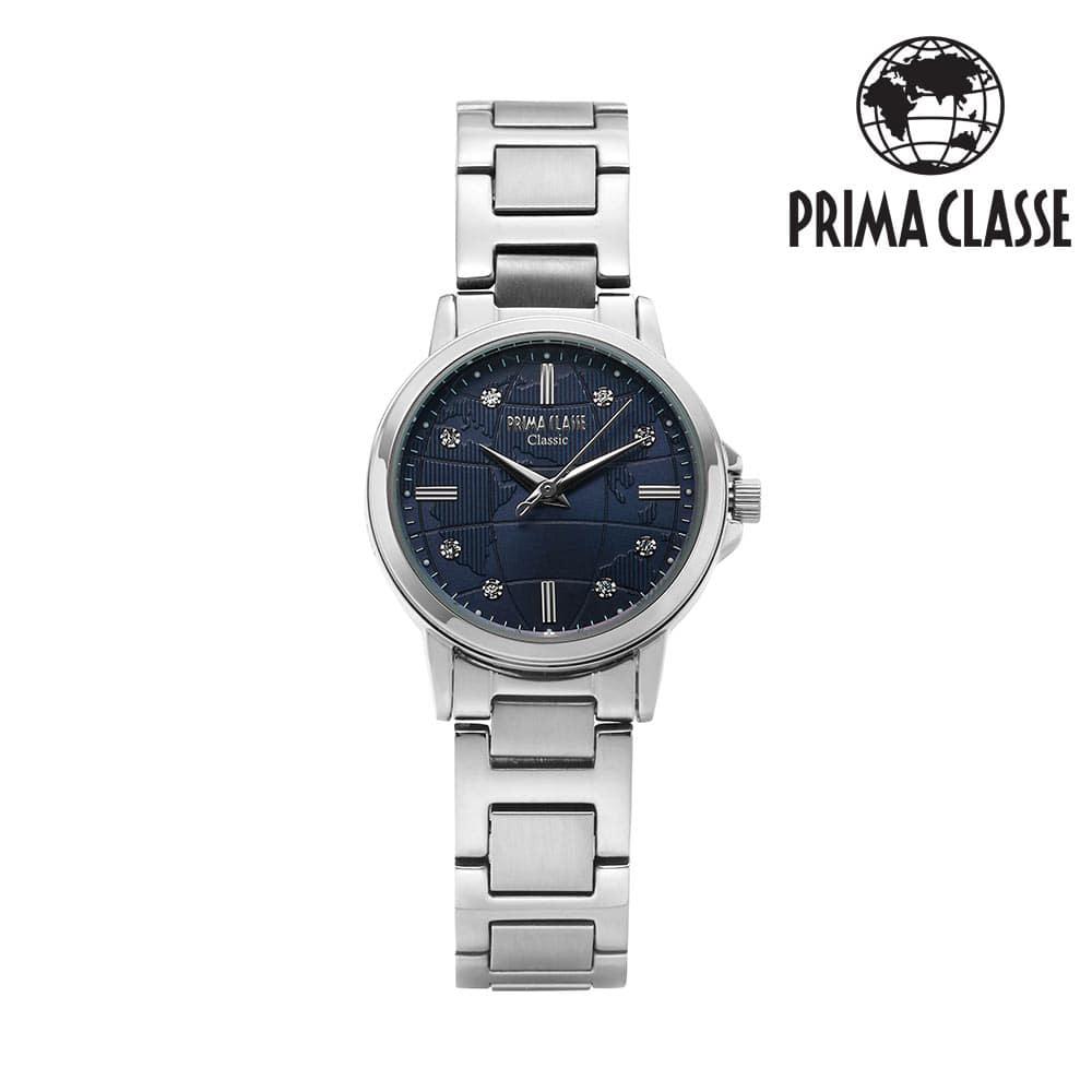 [프리마 클라쎄 PRIMA CLASSE] PCM19021L_BU 블루 여성용 메탈시계 29mmx34mm 타임메카