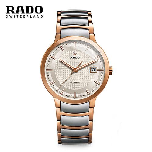 [라도 RADO] R30953123 / Centrix Rose Gold Two tone Automatic 남성용(구입문의시 고객센터로 부탁드립니다.)