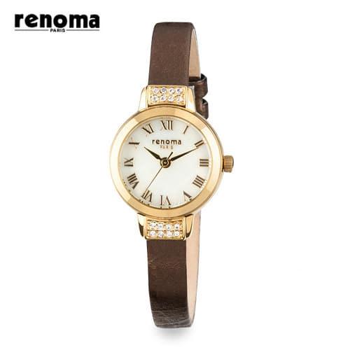 [레노마시계 RENOMA] RE365LGDBR 여성용 가죽시계 [한국본사정품]