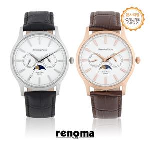 [레노마시계 RENOMA] RE5475L 남성 문페이즈 시계