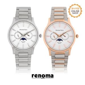 [레노마시계 RENOMA] RE5475 남성 문페이즈 시계