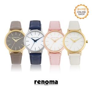 [레노마시계 RENOMA] RE505 여성 가죽 시계