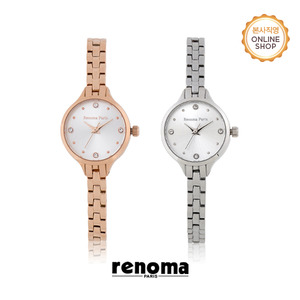 [레노마시계 RENOMA] RE520 여성 메탈 시계