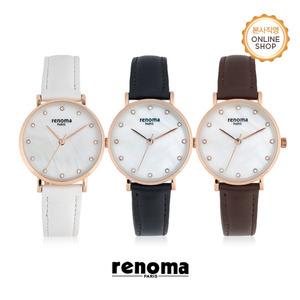 [레노마시계 RENOMA] RE530 여성 가죽 시계