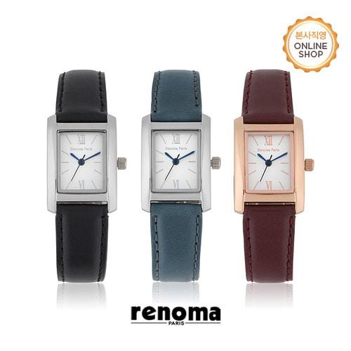 [레노마시계 RENOMA] RE540 여성 가죽 시계