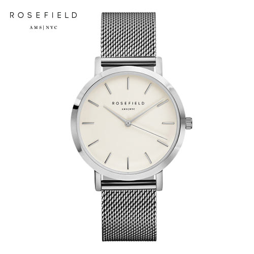 [로제필드 ROSEFIELD] MWS-M40 The Mercer_White_Silver 머서 화이트/실버 38mm