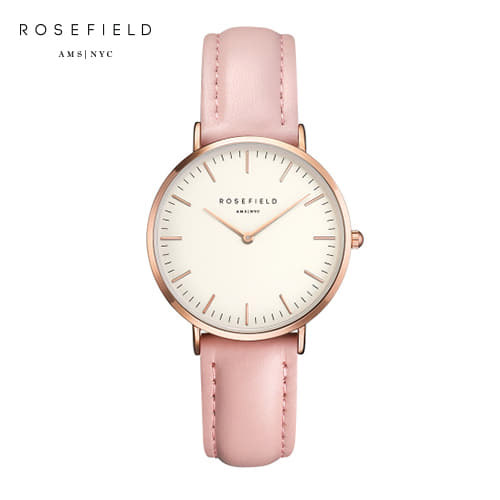 [로제필드 ROSEFIELD] TWPR-T58 TheTribeca_White_Pink_Rosegold 트리베카 화이트/핑크/로즈골드 33mm