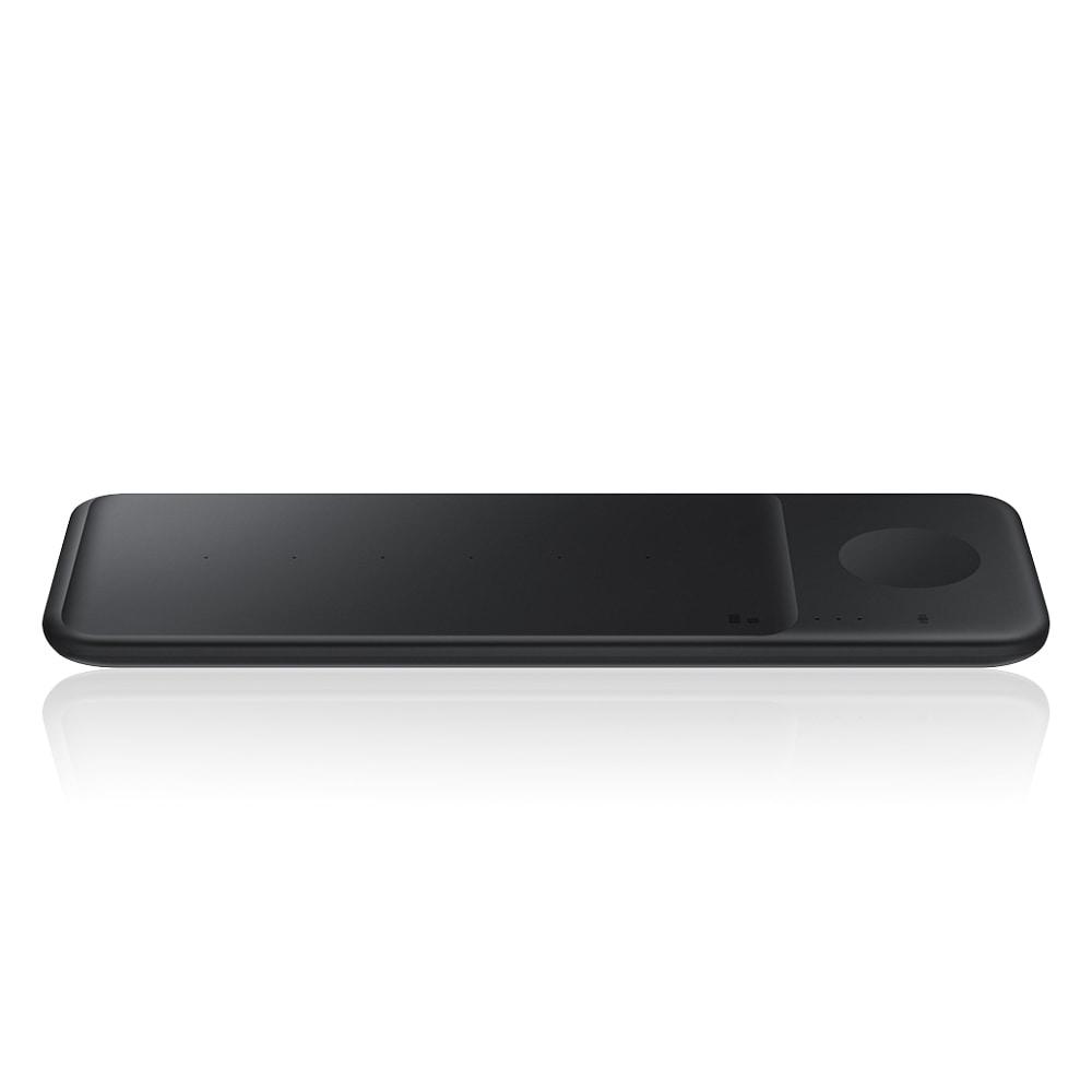 [삼성 SAMSUNG] 삼성 고속 무선충전패드 트리오 블랙 컬러 EP-P6300T_BK 타임메카