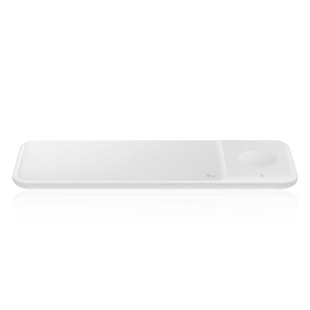 [삼성 SAMSUNG] 삼성 고속 무선충전패드 트리오 화이트 컬러 EP-P6300T_WH 타임메카