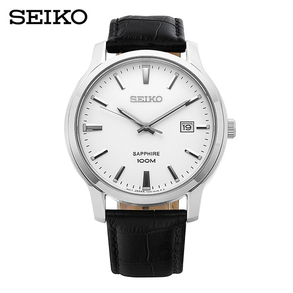 [세이코 SEIKO] SGEH43P1 / 네오 클래식 Neo Classic 남성용 가죽시계 41mm
