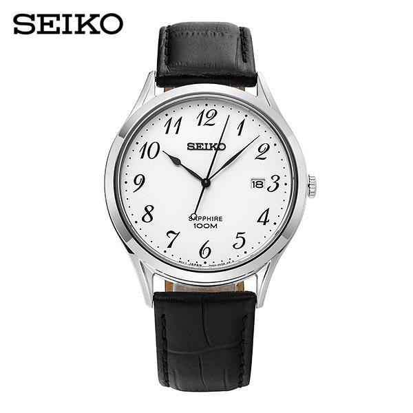 [세이코 SEIKO] SGEH75P1 / 남성 가죽시계 40mm
