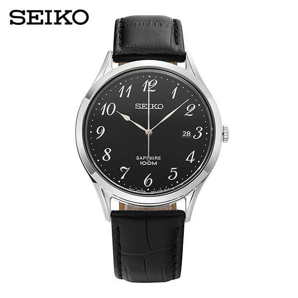 [세이코 SEIKO] SGEH77P1 / 남성 가죽시계 40mm