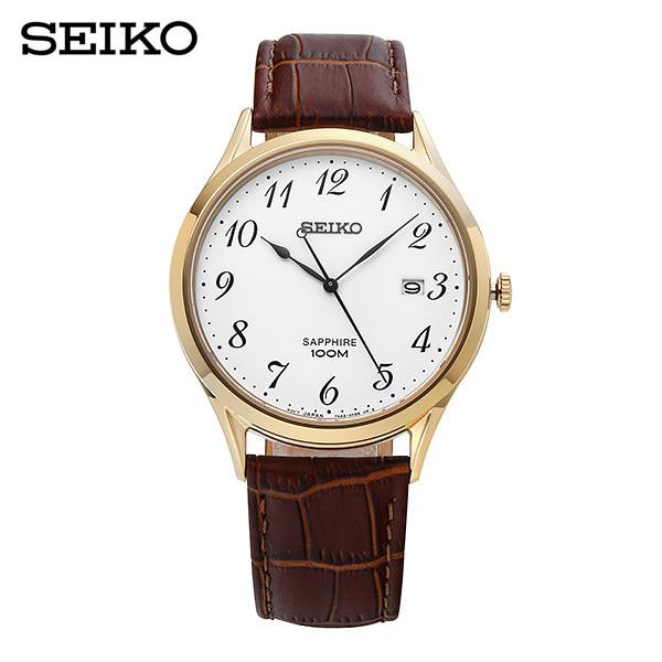 [세이코 SEIKO] SGEH78P1 / 남성 가죽시계 40mm