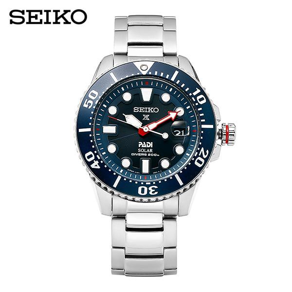 [세이코 SEIKO] SNE435J1 / 프로스펙스 Prospex 파디에디션 솔라 다이버 남성용 메탈시계 42mm 타임메카