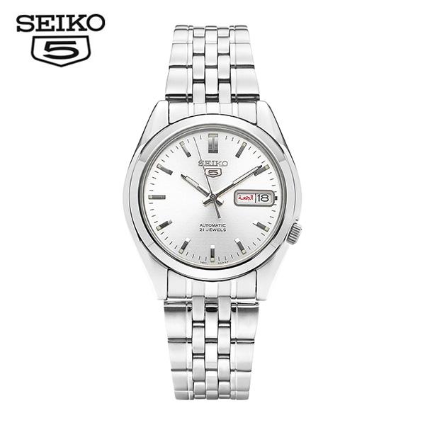 [세이코5시계 SEIKO5] SNK355K1 / SNK355K 오토매틱 남성용 메탈시계 37mm 타임메카