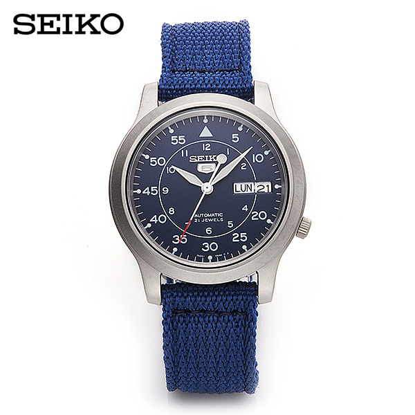 [세이코5시계 SEIKO5] SNK807K2 / SNK807K 오토매틱 나토밴드 38mm 타임메카