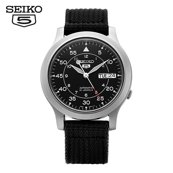 [세이코5시계 SEIKO5] SNK809K2 / 오토매틱 나토밴드 38mm 타임메카