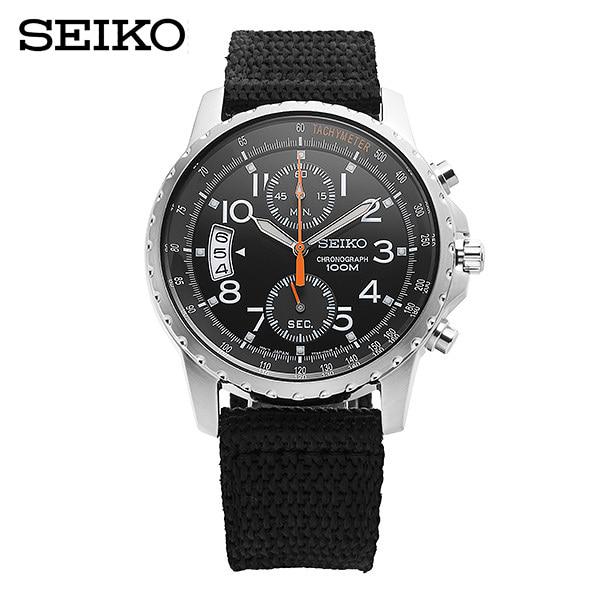 [세이코 SEIKO] SNN079P2 / 크로노그래프 남성용 42mm