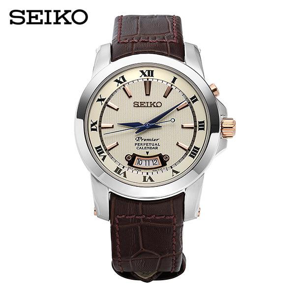 [세이코 SEIKO] SNQ150P1 / 퍼페츄얼 프리미어 Premier 41.5mm