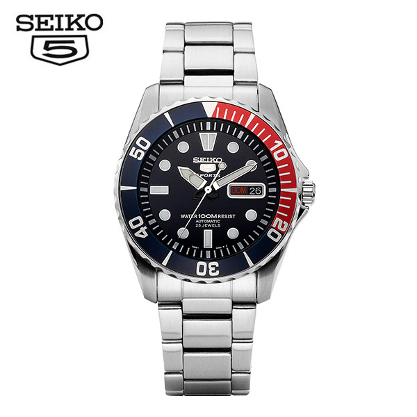 [세이코5시계 SEIKO5] SNZF15K1 / 베이비스모 펩시 오토매틱 41.5mm