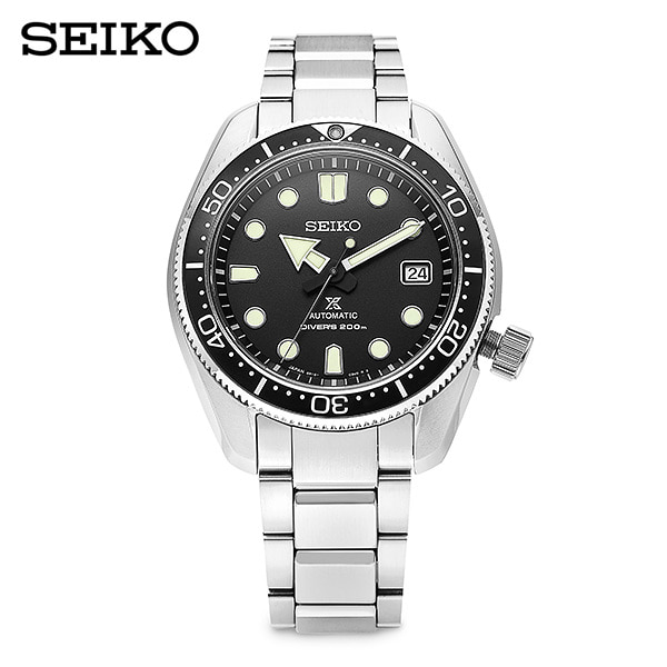 [세이코 SEIKO] SPB077J1 (SBDC061) / 프로스펙스 Prospex 베이비마마 다이버 오토매틱 남성용 메탈시계 44mm 타임메카