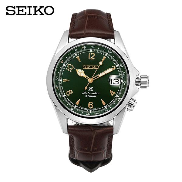 [세이코 SEIKO] SPB121J1 (SPB121P1) / 알피니스트 Alpinist 메카니컬 그린 신형 남성용 가죽시계 39mm 타임메카
