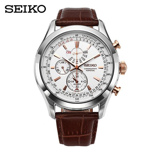 (졸업입학) [세이코 SEIKO] SPC129P1 / 43mm 퍼페츄얼 크로노그래프 Perpetual Chronograph