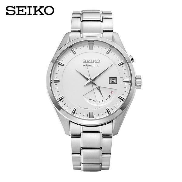 [세이코 SEIKO] SRN043P1 / 키네틱 남성 메탈시계 45mm