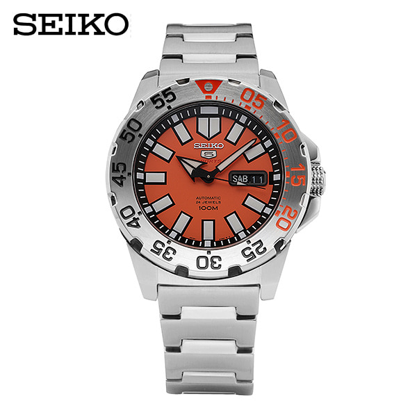 [세이코5시계 SEIKO5] SRP483K1 / 오렌지 몬스터 오토매틱 45mm