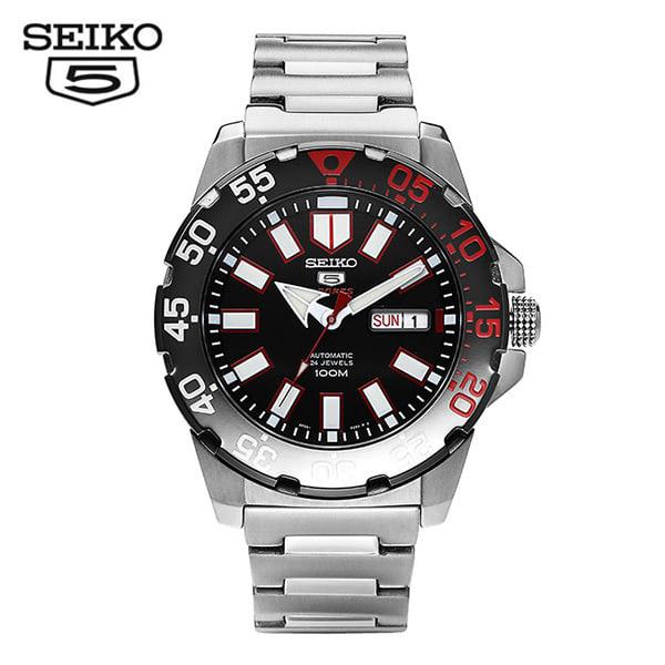 [세이코5 SEIKO5] SRP487K1 / SRP487K 스포츠 오토메틱 Sports Automatic Mens 44mm