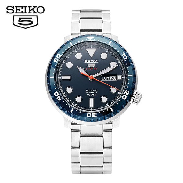 [세이코5시계 SEIKO5] SRPC63K1 / SRPC63K 스포츠 오토매틱 남성용 메탈시계 45mm 타임메카