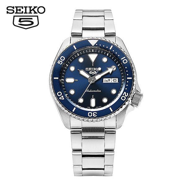 [세이코5시계 SEIKO5] SRPD51K1 / SRPD51K 스모 다이버 신형 딥블루 오토매틱 남성용 메탈시계 42.5mm 타임메카