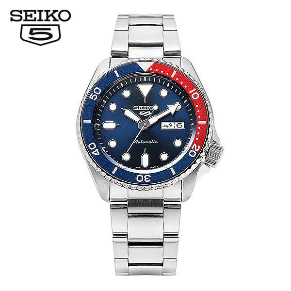 [세이코5시계 SEIKO5] SRPD53K1 / SRPD53K 스모 다이버 신형 펩시 오토매틱 남성용 메탈시계 42.5mm 타임메카