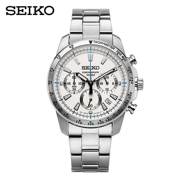 [세이코 SEIKO] SSB025P1 / 클래식크로노 남성 메탈시계 46mm