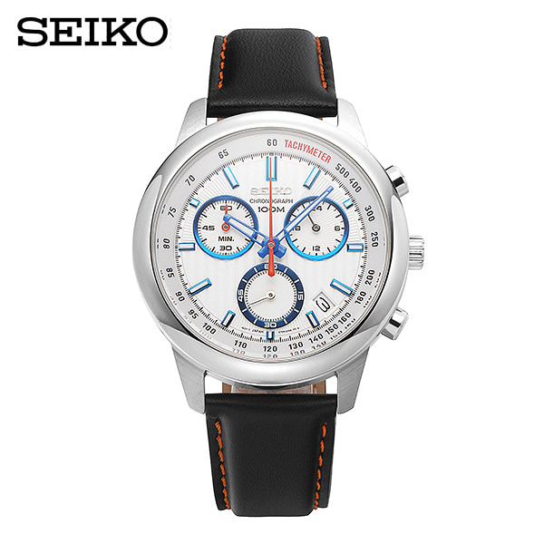 얼마줬스-) [세이코 SEIKO] SSB209P1 / 크로노 쿼츠 Chronograph Mens 42mm