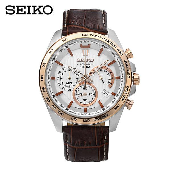 [세이코 SEIKO] SSB306P1 / 크로노그래프 (Chronographe) 남성용 44mm