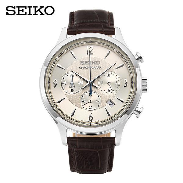 [세이코 SEIKO] SSB341P1 (SSB341J1) / 컨셉츄얼 Conceptual 크로노그래프 남성용 가죽시계 43mm 타임메카