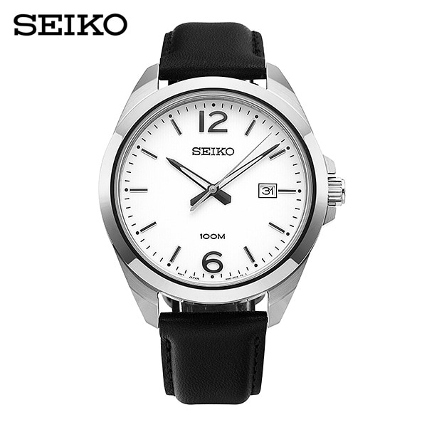 [세이코 SEIKO] SUR213P1 (SUR213J1) / 클래식 Classic 남성용 가죽시계 42mm 타임메카